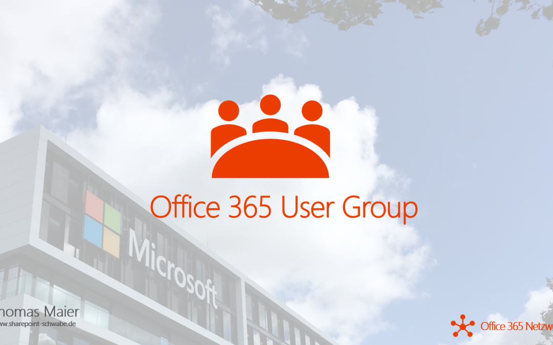 Office 365 User Group-Logo: frei verwenbar!