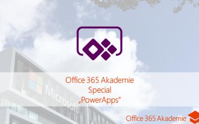 18-01 PowerApps – Special der Office 365 Akademie