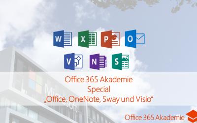 18-01 Office, OneNote, Sway und Visio Office 365 Akademie Special