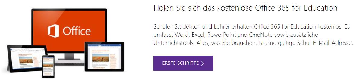 Zertifizierung für Lehrer - Office 365 Akademie