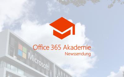 Office 365 Akademie News – Jun 18