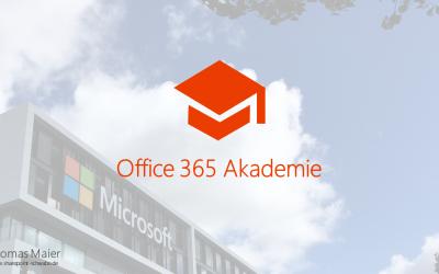 Office 365 Akademie News – Jul 18