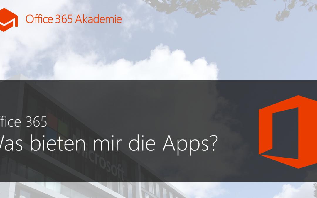 Quofox Kurs – Office 365 – Was bieten mir die Apps?