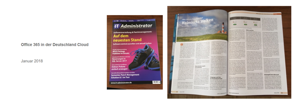 IT Administrator – Office 365 in der Deutschland Cloud