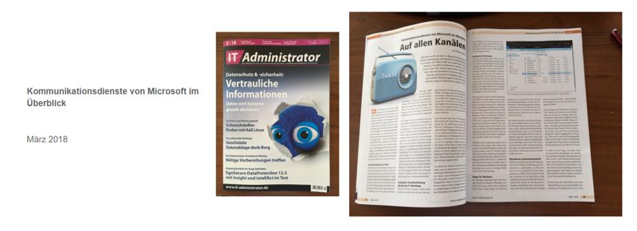 IT Administrator – Kommunikationsdienste von Microsoft im Überblick