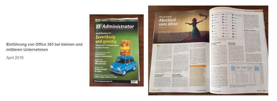 IT Administrator – Einführung von Office 365 bei kleinen und mittleren Unternehmen