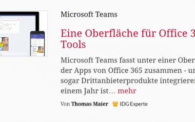 CIO – Eine Oberfläche für Office 365 Tools