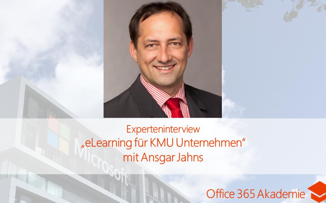 """Experteninterview """"eLearning für KMU Unternehmen"""" mit Ansgar Jahns"""