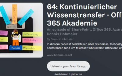 Kontinuierlicher Wissenstransfer – Thomas Maier im Interview bei Dennis Hobmaier