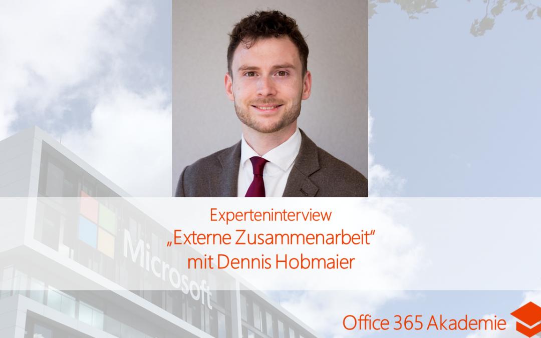 """Experteninterview """"Externe Zusammenarbeit"""" mit Dennis Hobmaier"""