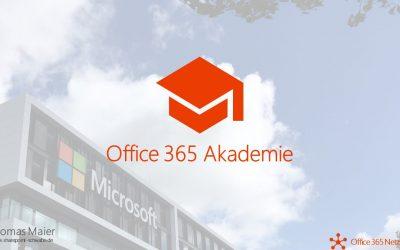 Office 365 Akademie News – September 2019