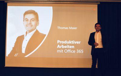 Thomas Maier spricht über Teams und Stream beim OfficeCamp 2019