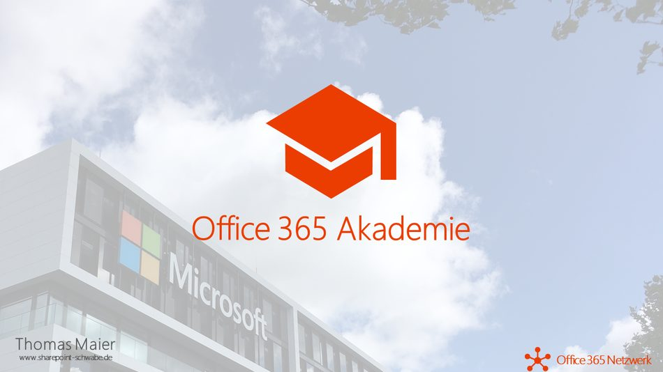 Office 365 Akademie News – November 2020