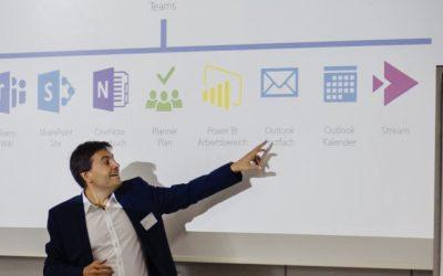 Microsoft Teams Deep Dive von Thomas Maier auf dem SharePoint Forum Stuttgart 2019