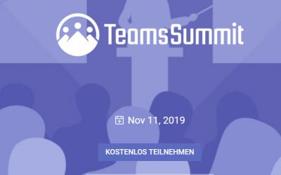 Virtueller Teams Summit am 11.11.2019