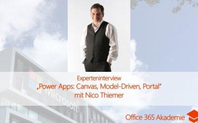 Experteninterview mit Nico Thiemer über Power Apps: Canvas, Model-Driven oder Portal?