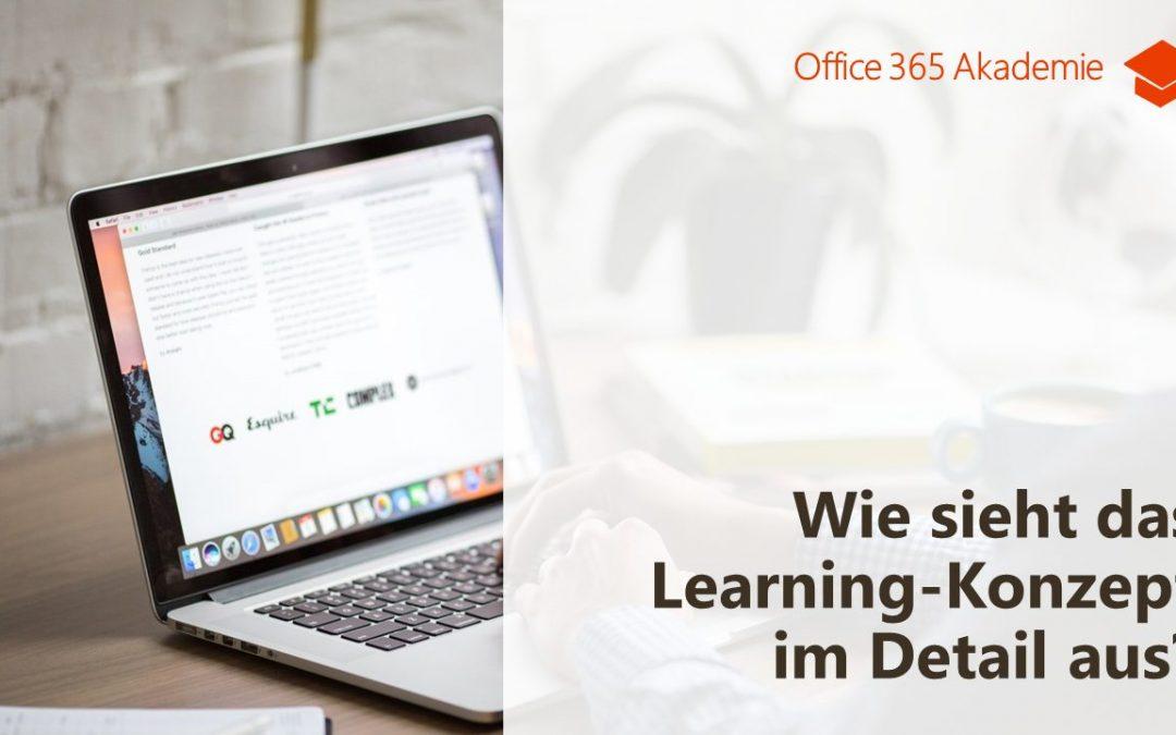 Das Learning Konzept der Office 365 Akademie