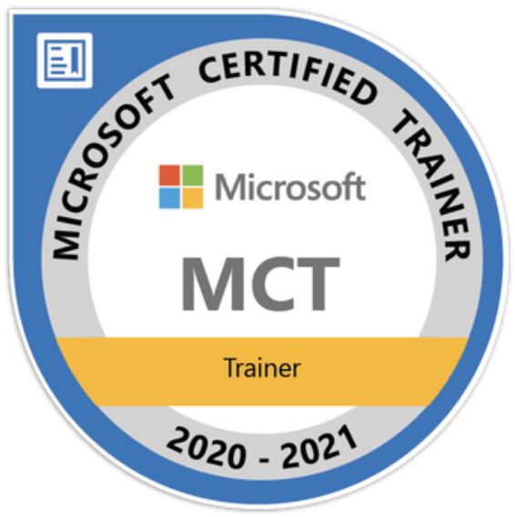 Thomas Maier erneut als Microsoft Certified Trainer ausgezeichnet