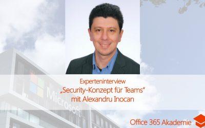 Experteninterview mit Alexandru Inocan: Security-Konzept für Teams