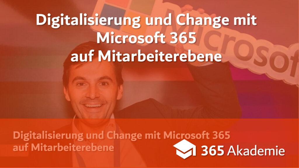 Digitalisierung mit Microsoft 365 auf Mitarbeiterebene