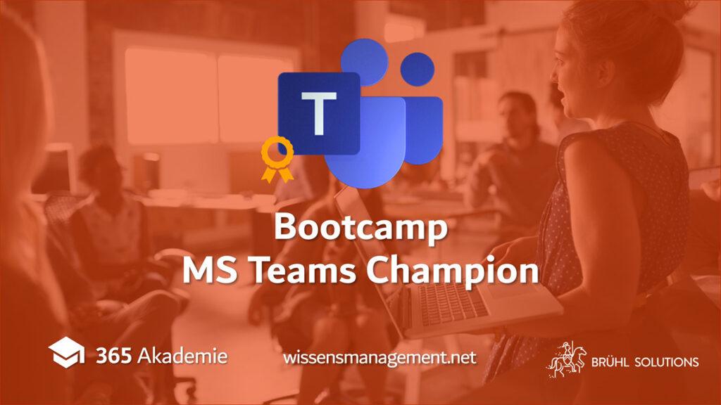Bootcamp; 365 Akademie; wissensmanagement.net; Brühl Solutions