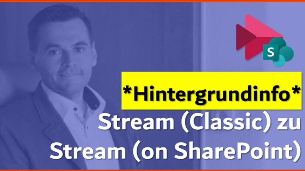 Beitragsbild Hintergrundinfo Stream on SharePoint