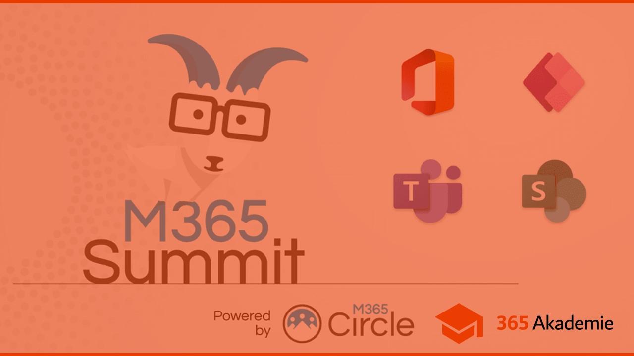 Beitragsbild M365 Summit