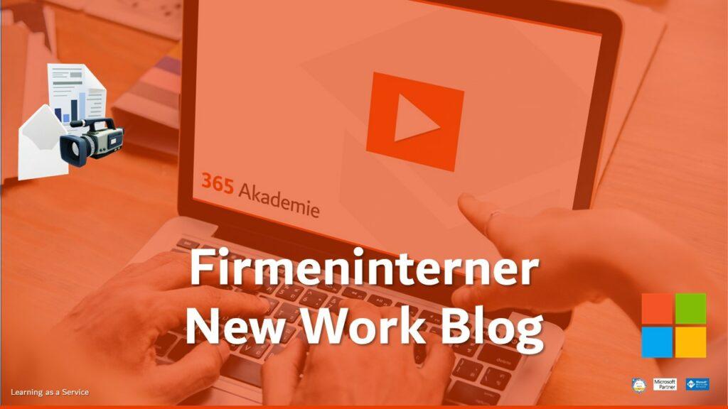 Blogbeitrag Firmeninterner New Work Blog