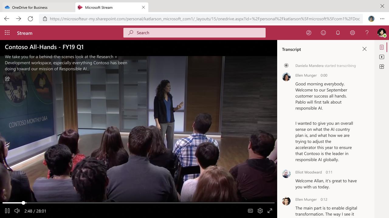 Stream (on SharePoint)