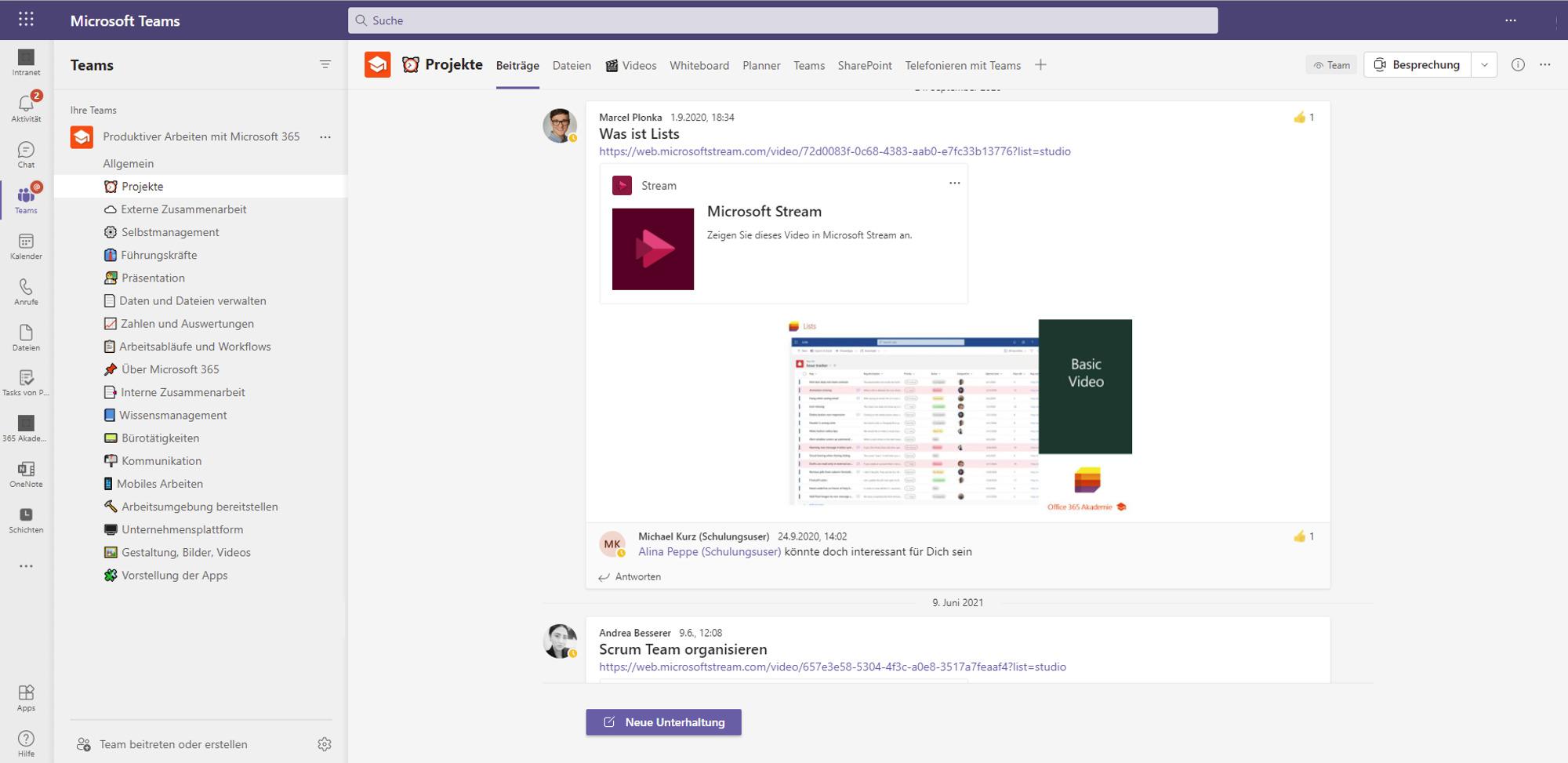 Screenshot Teams
