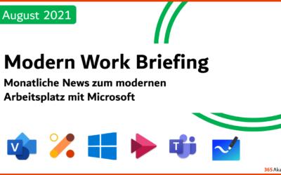 Briefing August 2021
