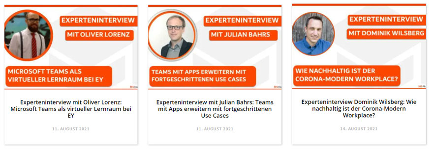 Experteninterviews August