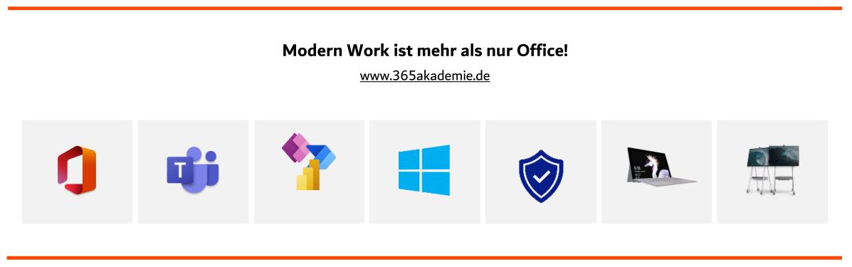 Modern Work ist mehr als nur Office