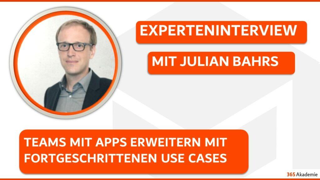 Julian Bahrs im Experteninterview