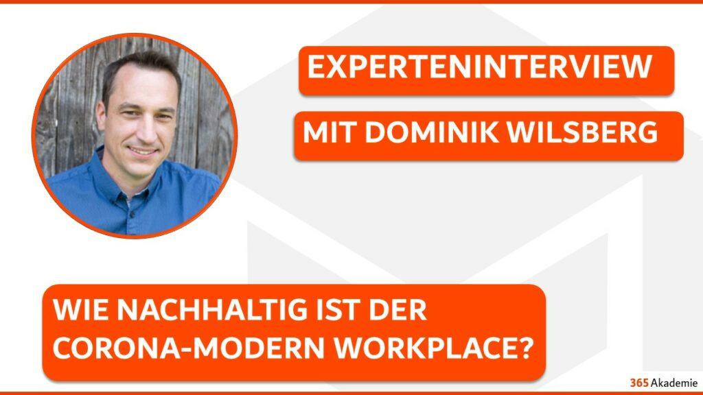 Dominik Wilsberg im Experteninterview