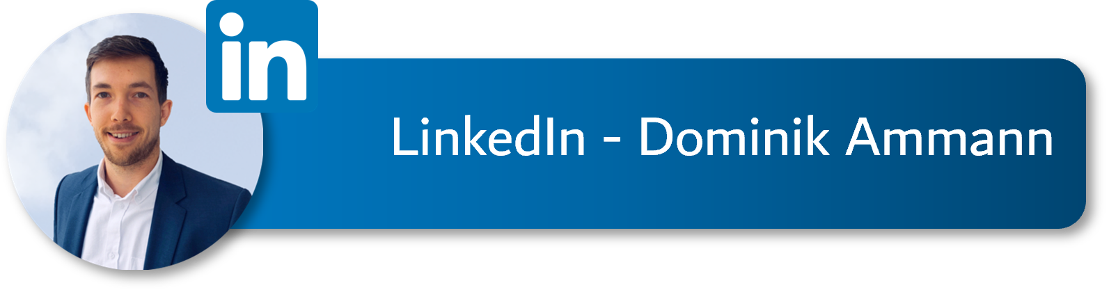 Button LinkedIn – Dominik Ammann