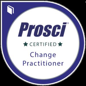 Prosci Certified Change Practitioner