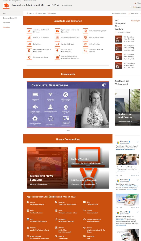 SharePoint Site bauen